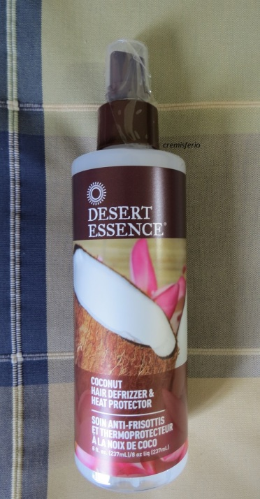 DESERT ESSENCE Desenredante y protector de cabello de coco