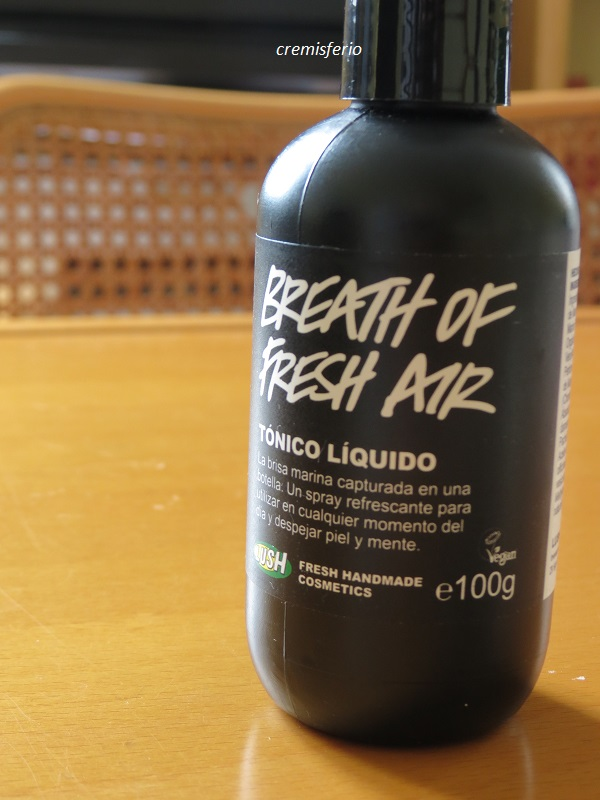LUSH Tónico Breath of fresh air