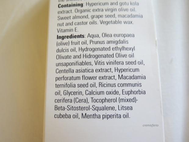 DELACEITE - MARTA KAUFMANN Body milk hidratante oliva piel seca INCI