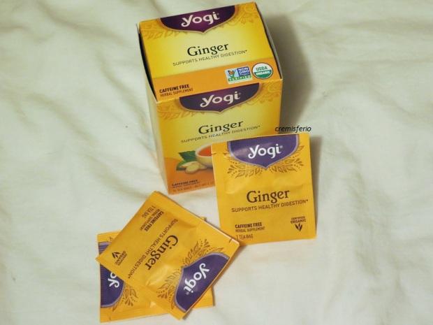 IHERB Haul octubre 2017 - Yogi tea ginger