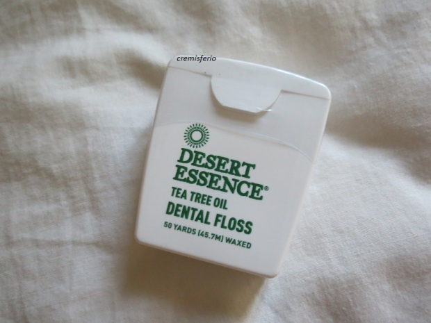 IHERB Haul diciembre 2017 - Hilo dental Desert Essence