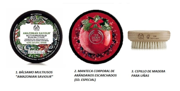 WISHLIST Black Friday 2017 THE BODY SHOP corporales