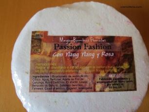 Bomba baño rosas e ylang-ylang Mundo Natural 2