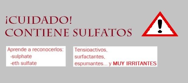 SULFATOS I - Cuidado sulfatos