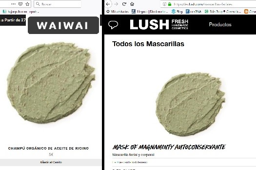 haul waiwai store - enero 2019 - champú hidratante vs mask of magnanimity