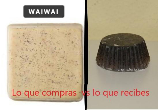 waiwai store - expectativas vs realidad