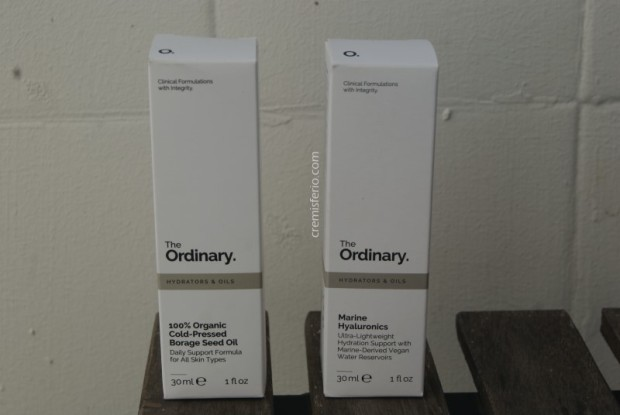 HAUL Primor - Marzo 2019 - The Ordinary aceite borraja, The Ordinary marine hyaluronics
