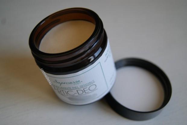 HAUL Saponaria Soaps - Abril 2019 - Desodorante natural en crema Artic-Deo con bicarbonato sódico